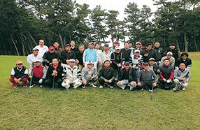 水戸西LCとの親睦ゴルフコンペ写真