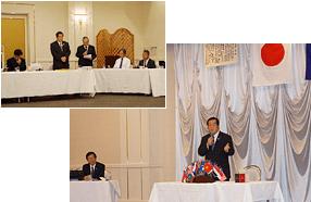 卓話例会 講師 栃木アイバンク理事長 L小倉康延氏写真